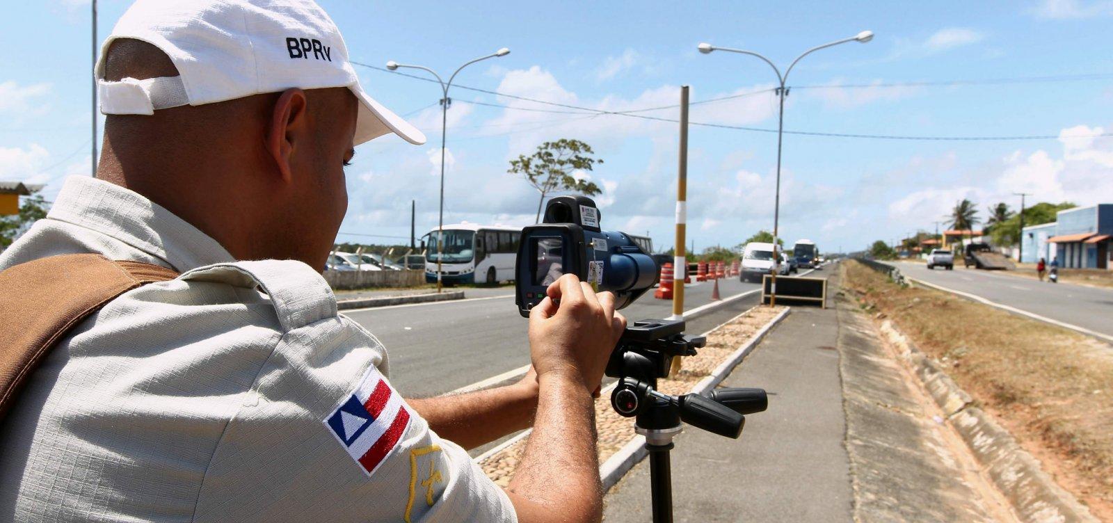 [Feriado de Corpus Christi tem redução de 44,8% de acidentes nas rodovias baianas]