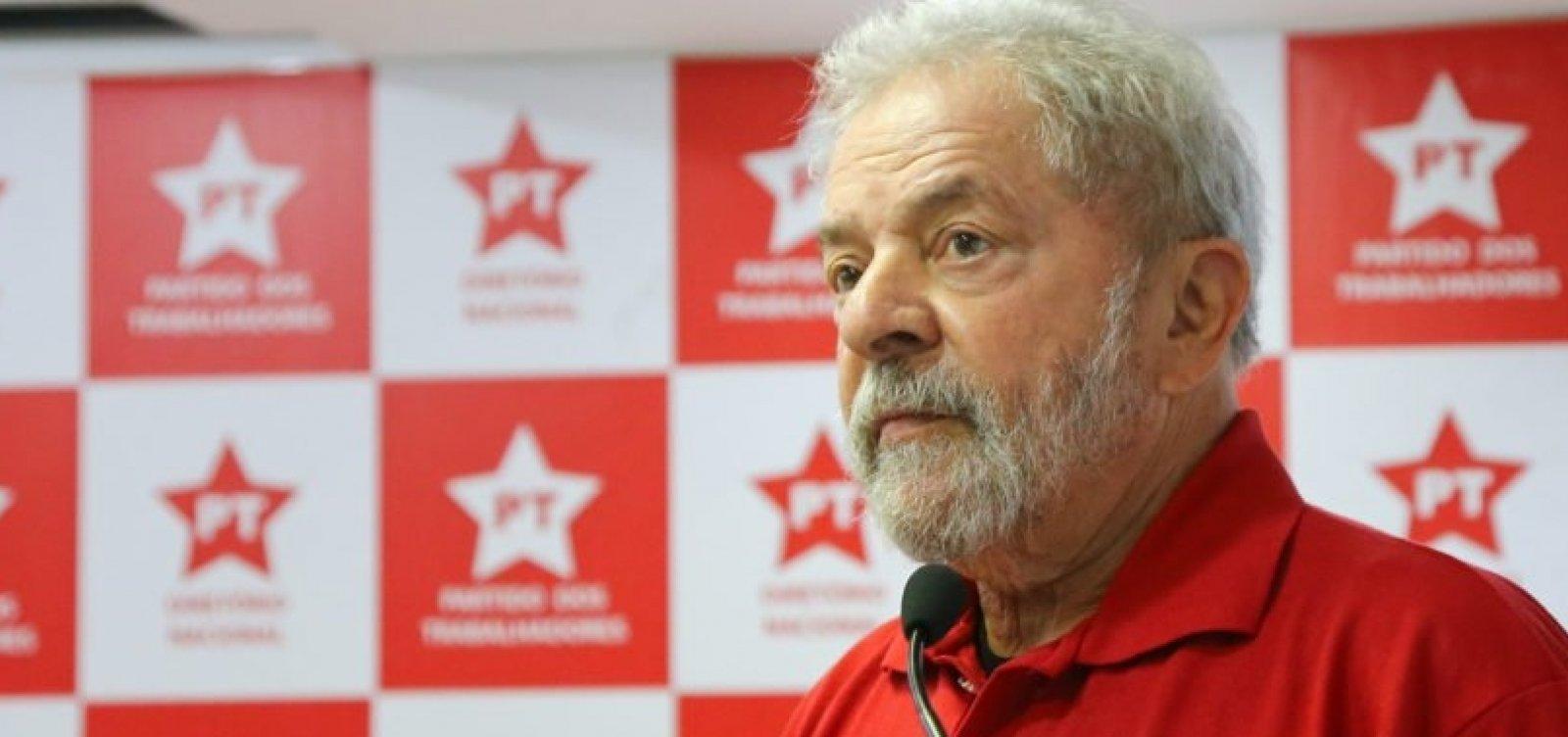 [Juíza ainda não decidiu se permitirá que Lula grave vídeos na prisão]