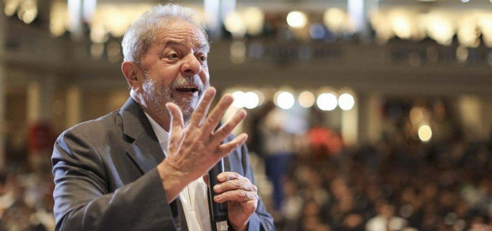 [Em apenas um dia no ar, vaquinha do PT por Lula presidente arrecada R$ 44 mil]