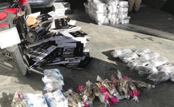 [Polícia apreende mercadorias contrabandeadas em Feira de Santana]
