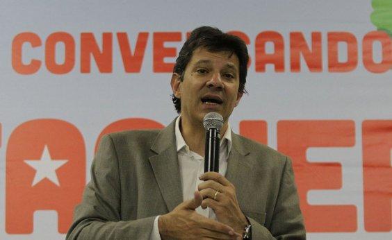 [Campanhas de Alckmin e Ciro acreditam que Haddad será candidato a presidente]