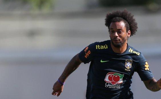 [Marcelo será capitão da Seleção no jogo de estreia do Brasil na Copa]