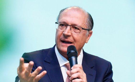['Não há razão para abrir mão da candidatura', diz Alckmin]