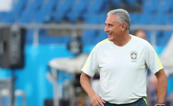 [Antes da estreia do Brasil, Tite diz que Neymar ainda não está 100%]