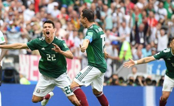 [México surpreende e vence a Alemanha por 1 a 0]
