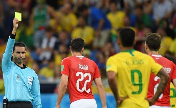 [Brasil e Suíça empatam em 1 a 1 em jogo com arbitragem contestada]