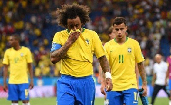 [Marcelo lamenta empate e critica árbitro: 'Ele não quis olhar para o telão']
