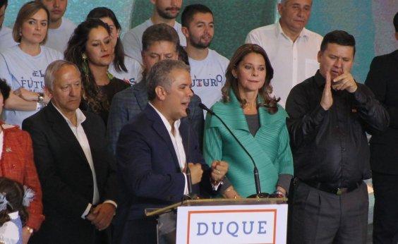 [Duque é eleito novo presidente da Colômbia]