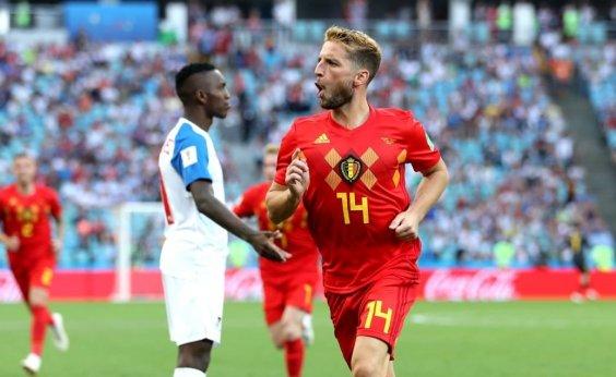 [Bélgica brilha, atropela Panamá por 3 a 0 e se consolida como favorita no Grupo G]