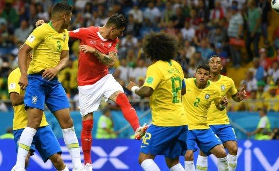 [CBF fará reclamação por gol suíço na estreia da Copa do Mundo]