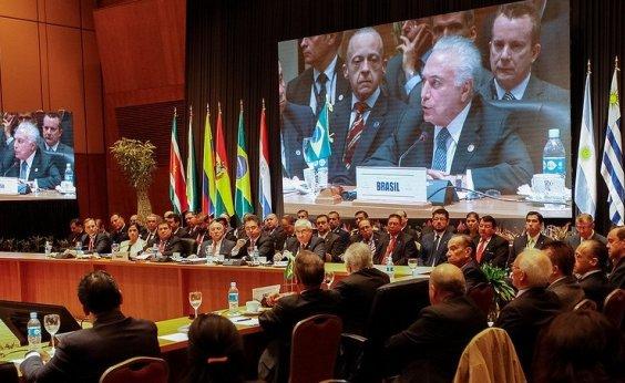 [Mercosul pede que Venezuela facilite acesso de ajuda internacional]