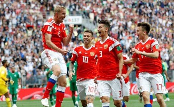 [Rússia volta a campo e outros quatro times estreiam na Copa hoje]
