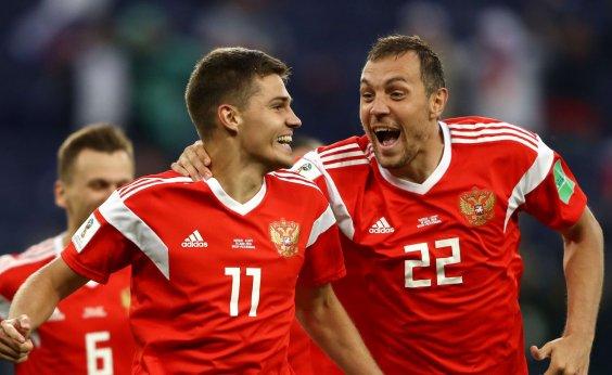 [Rússia vence novamente e encaminha classificação; Egito está eliminado]