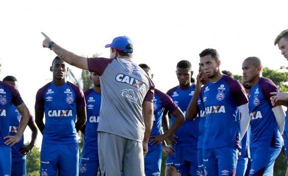 [Enderson Moreira relaciona 20 jogadores do Bahia para enfrentar o Ceará]