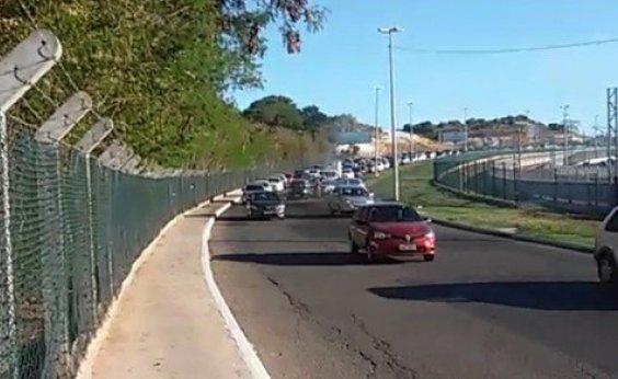[Avenida Carybé será interditada para implantação de nova passarela ]