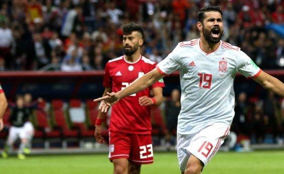[Espanha vence Irã na marra e embola briga no Grupo B]