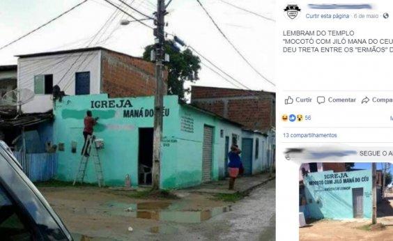 [Igreja batizada como 'Mocotó com Jiló Maná do Céu' causa polêmica na Bahia]