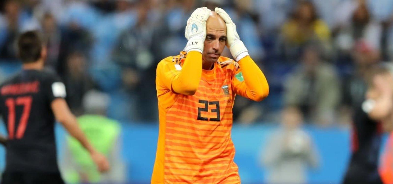 [Croácia mete 3, se classifica e deixa Argentina perto de cair na 1ª fase da Copa]