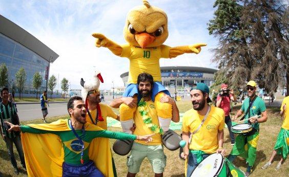 [Brasil tenta hoje, diante da Costa Rica, a primeira vitória na Copa do Mundo]