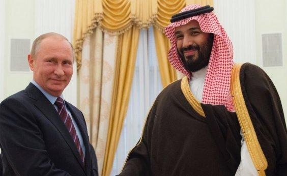 [Rússia e Arábia Saudita se unem para controlar preço do petróleo ]