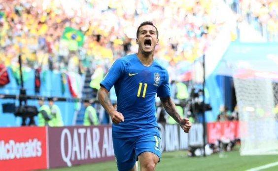 [Brasil tira o pé da lama, vence a Costa Rica e se recupera no Grupo E]
