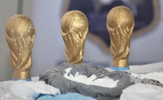 [Troféus falsos da Copa do Mundo eram usados para transportar drogas na Argentina]