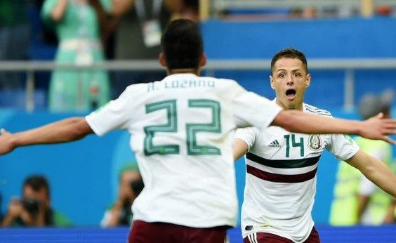[100%, México vence com tranquilidade e complica Coreia do Sul ]