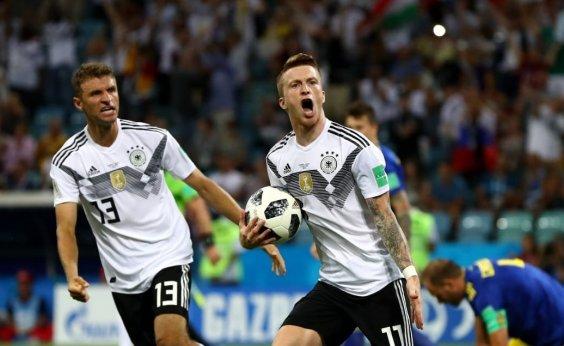 [No sofrimento, Alemanha vence de virada, se recupera e embola Grupo F]