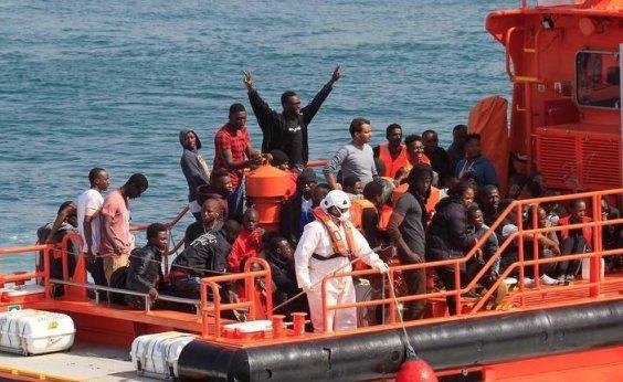 [Mais de 760 imigrantes são resgatados na costa da Espanha]