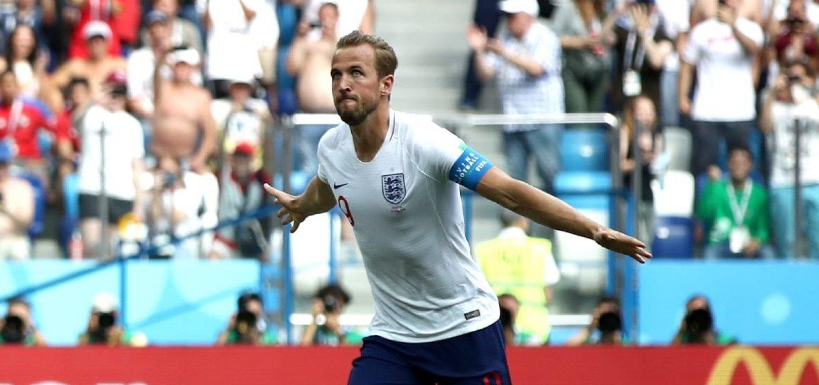 [Inglaterra atropela Panamá, garante classificação e vai definir liderança com a Bélgica]