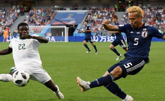 [Japão e Senegal empatam e definição do Grupo H fica para última rodada]