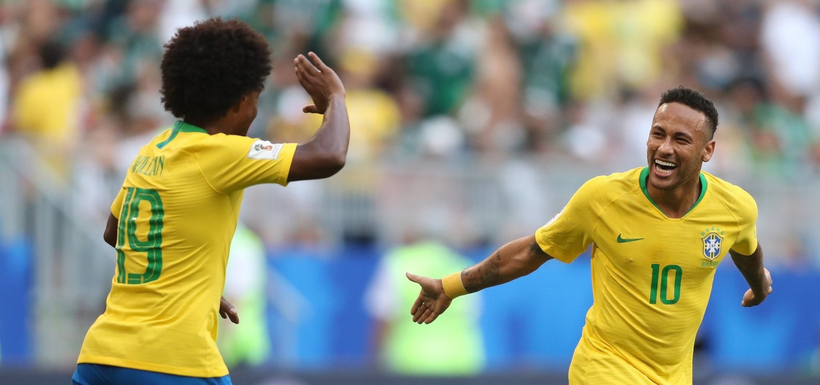 [Pela 7ª vez seguida, Brasil está nas quarta de final da Copa do Mundo]