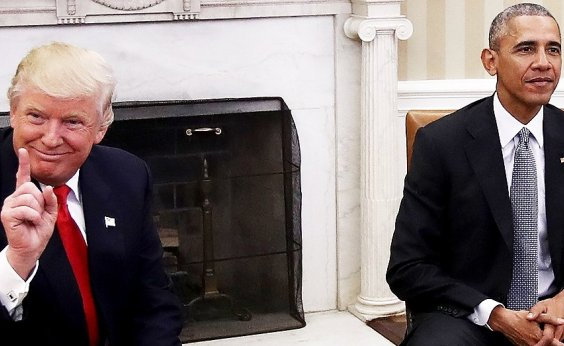 [Trump questiona por que Obama não agiu contra suposta interferência russa nas eleições de 2016]