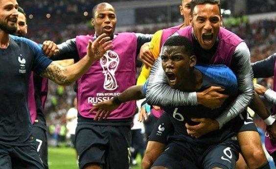[França vence a Croácia por 4 a 2 e conquista a Copa do Mundo da Rússia]