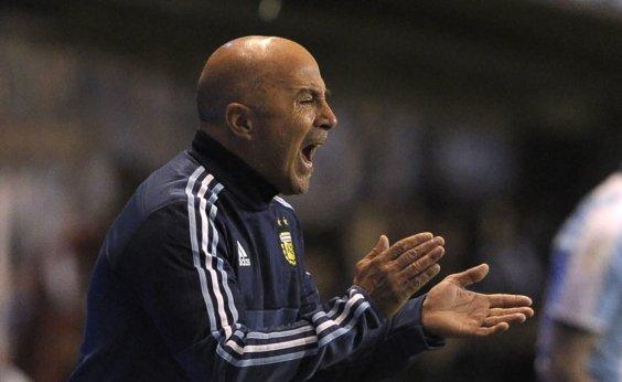 [Federação anuncia demissão de Sampaoli como técnico da Argentina]