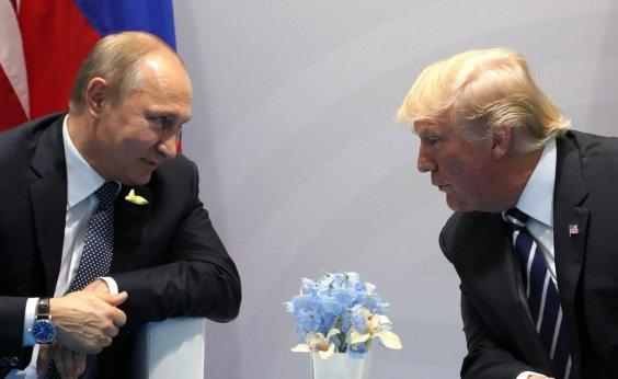 [Trump se encontra com Putin na Finlândia]