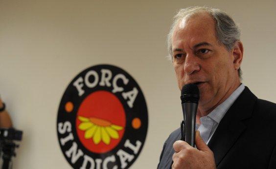 [PDT vai oficializar candidatura de Ciro Gomes na sexta]