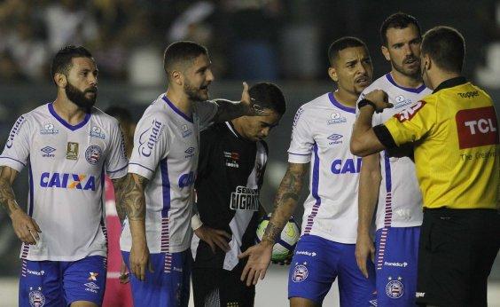 [Bahia perde para o Vasco, mas avança na Copa do Brasil; arbitragem rouba a cena]