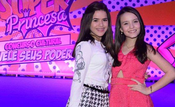 [Larissa Manoela descarta rivalidade com Maisa: 'Crescemos juntas e somos muito amigas']