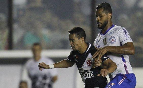 [Jogador do Bahia se defende após ser acusado de cuspir em dirigente do Vasco]