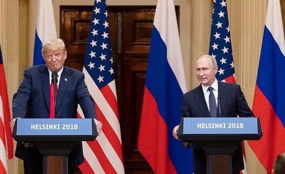 [Trump diz que aceita conclusão da Inteligência dos EUA sobre interferência russa nas eleições]