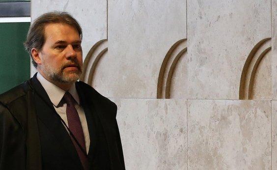 [Toffoli diz saber que terá que ir contra as próprias convicções na Presidência do STF]