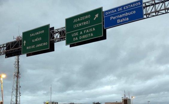[DNIT vai corrigir placa da divisa entre Bahia e Pernambuco]