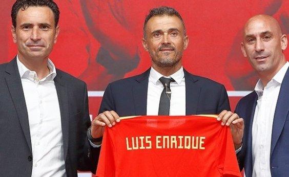 [Ao ser apresentado, Luis Enrique promete surpresas em 1ª convocação pela Espanha]