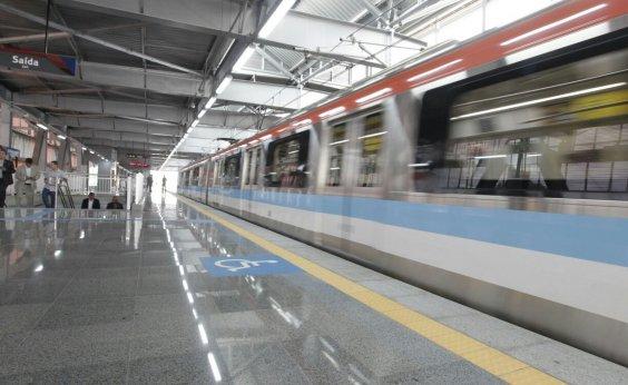 [Intervalo entre trens é normalizado na Linha 2 do Metrô de Salvador ]