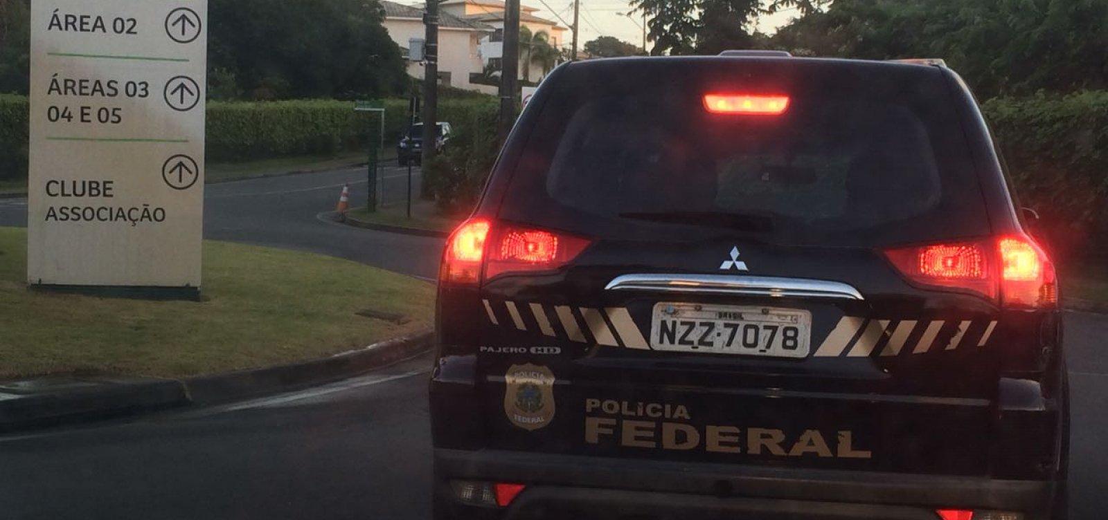 [Operação da PF combate lavagem de dinheiro do tráfico de drogas na Bahia e SP]