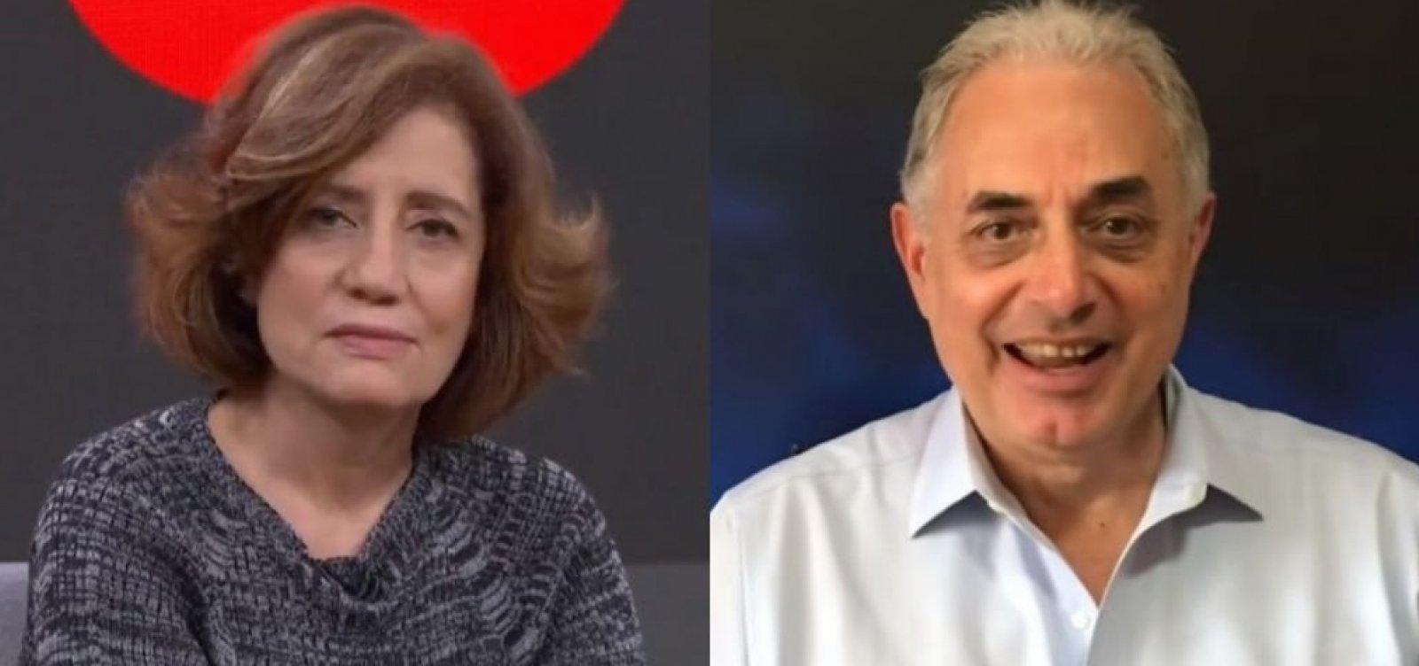 William Waack ironiza Globo e Miriam Leitão por 'mico' com ponto eletrônico