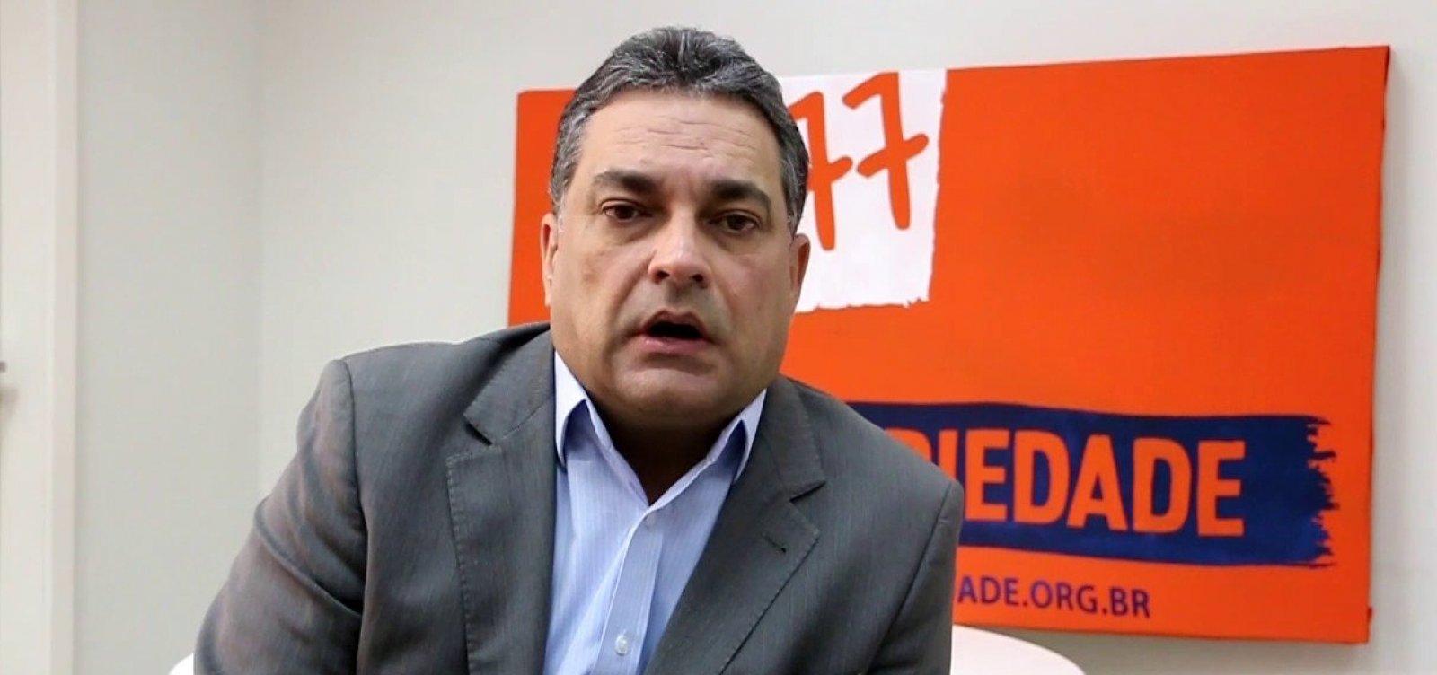 [Presidente do Solidariedade não acredita em retaliação de Neto após montagem de chapinha]