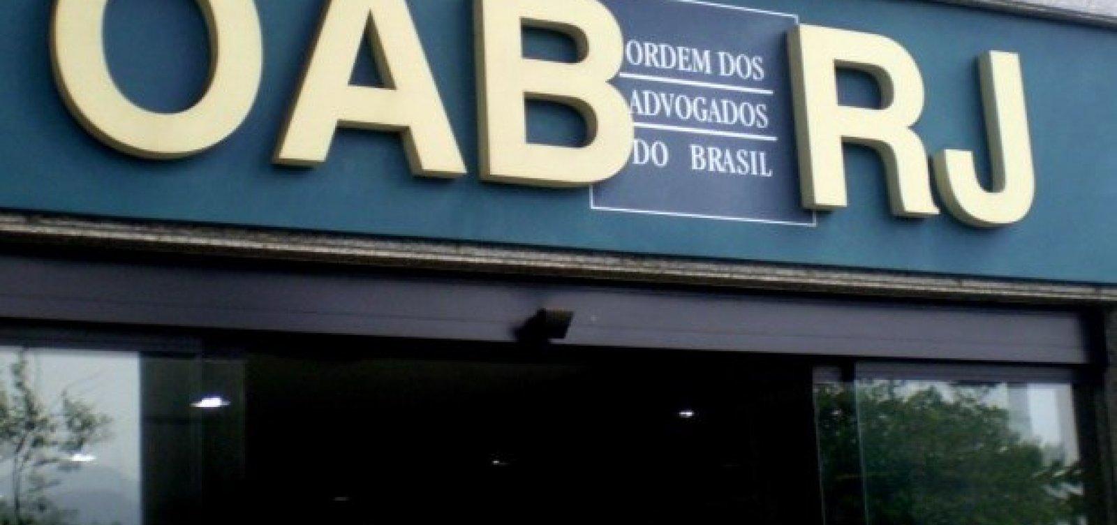 [Eleição da OAB-RJ é marcada por reviravolta; entenda]