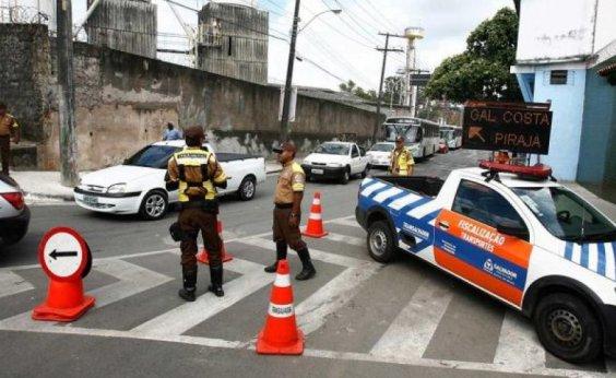 [Eventos alteram trânsito em Salvador hoje; saiba mais]